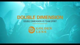 Премия Acuvue Golden Lens: Хайлайт №8 — Double Dimension (Double Dimension VS Team Spirit, TI8)