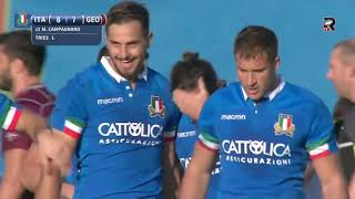 Italy vs Georgia highligts 1