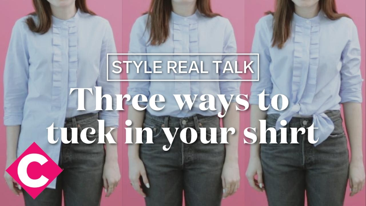 7841144f198 Three ways to tuck in your shirt