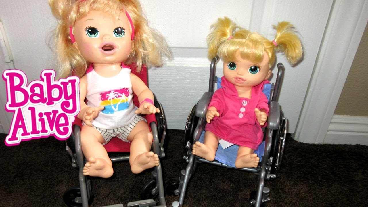 Baby Alive New Wheelchair For Baby Alive Dolls And New