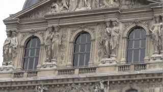 Дорога Версаль и обратно. Париж.(Версаль. Автобусная экскурсия. 31 января 2013 год. +8-10, пасмурно, ветер от сильного до умеренного, облачно...., 2013-03-04T18:13:54.000Z)