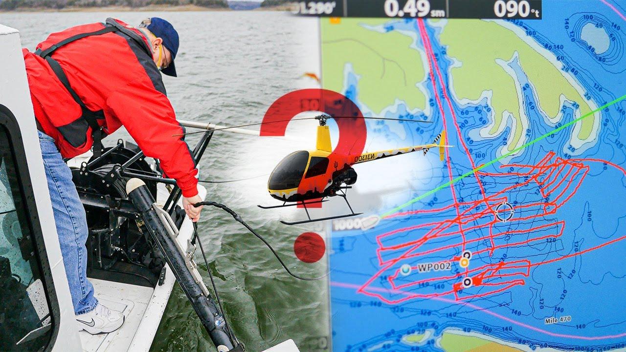 MISSING (Pt 2): R22 HELICOPTER CRASHED 115' Underwater!