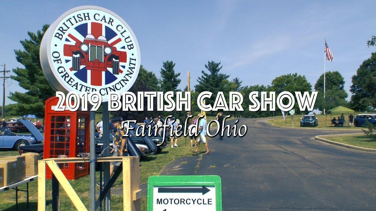 2019 British Car Show Fairfield Ohio