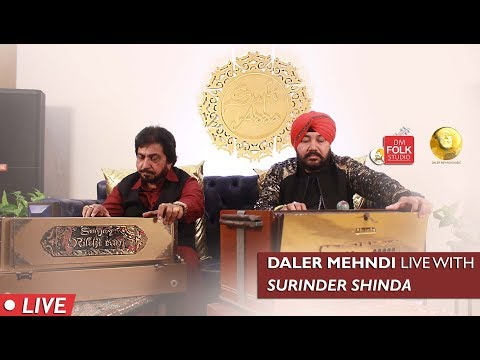 Daler Mehndi Live with Surinder Shinda | DM Folk Studio | Episode 14