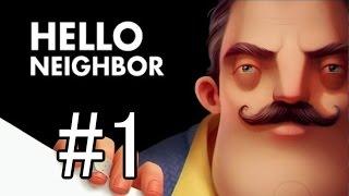 【実況】 Hello Neighbor Alpha1 #1