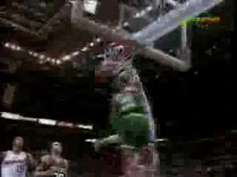 *Rare* 92-93 NBA Season - Top 10 Dunks Of The Year