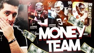 THE MONEY TEAM! MADDEN 17 SPIN THE WHEEL DRAFT CHAMPIONS! BACK TO BACK 99 ROUNDS!!!