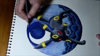 Umbreon Speed Drawing (Pokemon Fanart)