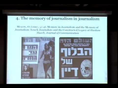 Annenberg Research Seminar - Oren Meyers, University of Haifa