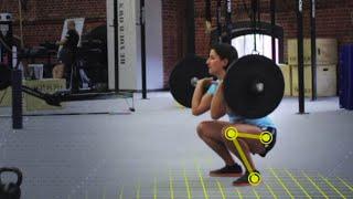 видео Трастеры со штангой: техника выполнения упражнения
