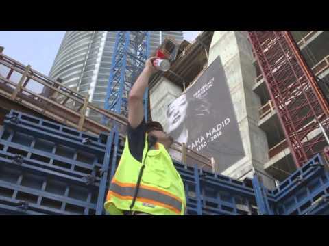 Zaha Hadid memorial service at One Thousand Museum