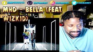 (FRENCH)MHD - Bella (feat. WizKid) REACTION!!