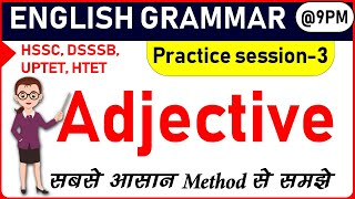 Adjective class-7 (Degree of Comparison practice session)