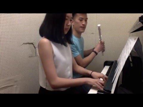 Nuvole Bianche - Ludovico Einaudi (Flute/Piano Duet)