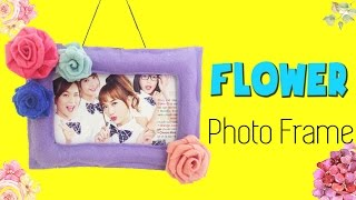 DIY Room Decor| How to make Felt Rose Photo Frame