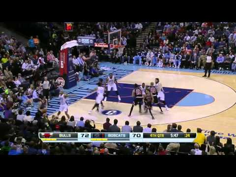 Chicago Bulls vs Charlotte Bobcats | April 16, 2014 | NBA 2013-14 Season