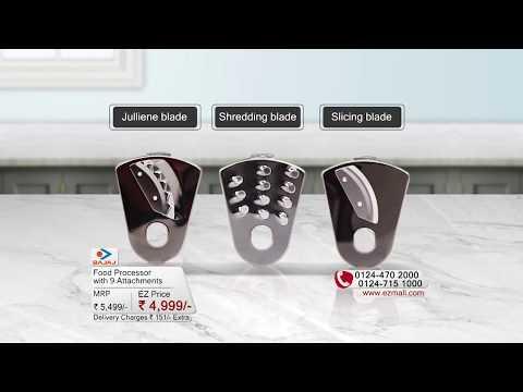 EZMall | Kitchen - Bajaj FX9 700W Food Processor