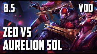10/1/3 Zed vs Aurelion Sol (League of Legends) - Stock Gameplay Raw Gameplay 38