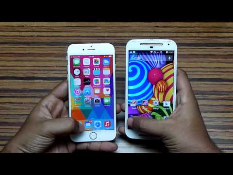 Moto G 2nd Gen vs iPhone 6 - Speed Test!