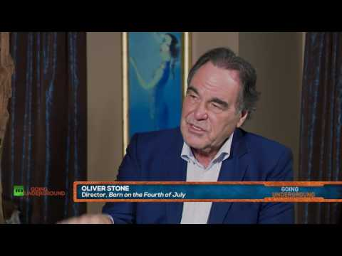 Oliver Stone on Freedom of Speech, Hillary's Hacks and CIA Cinema