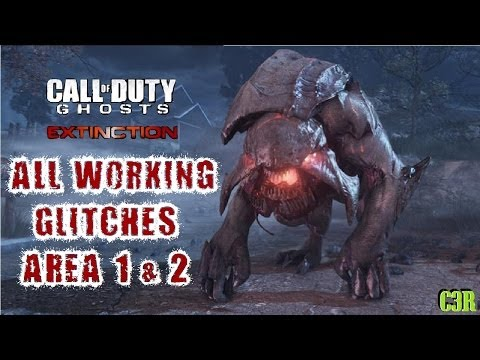 Ghosts Extinction ALL WORKING GLITCHES AREAS 1 & 2