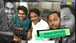 Happy Birthday Bharathiraja Sir