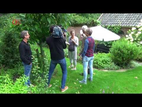 20 juli 2017 - Opnamen van Roelof Overweg bij de TV-opnames van RTV Oost in de Rubriek Over&Uit!