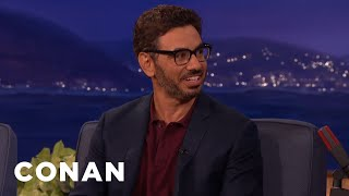 Al Madrigal: My 12-Year-Old Son Is Too Old To Believe In Santa  - CONAN on TBS