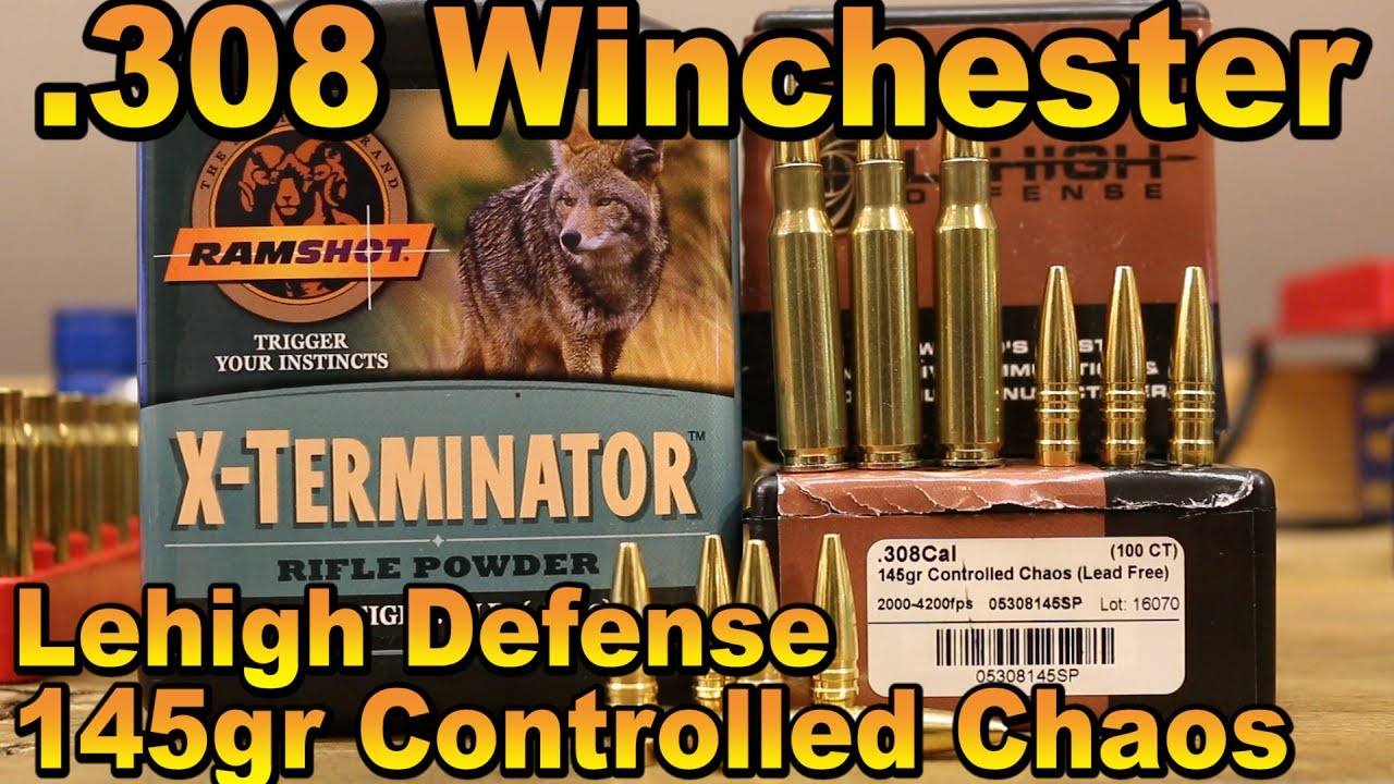 308 Win - 145gr Lehigh Defense Controlled Chaos