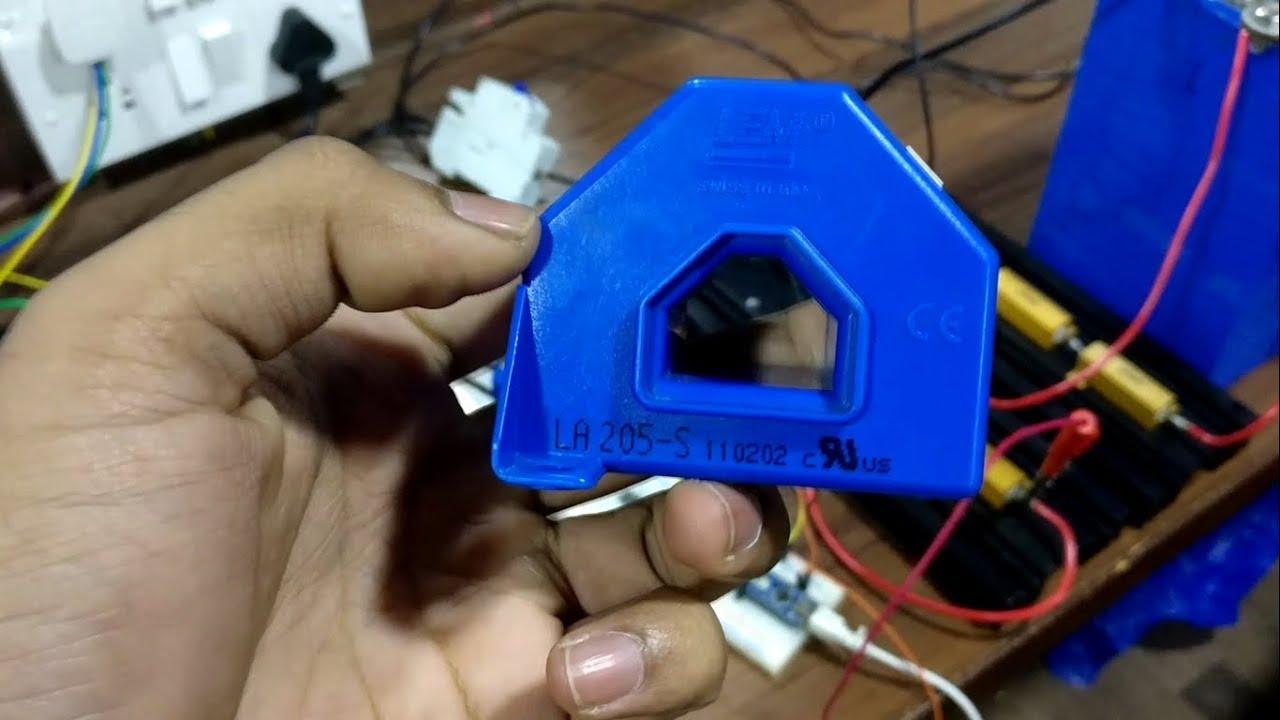 lem current sensor with arduino   la 205-s   watt meter