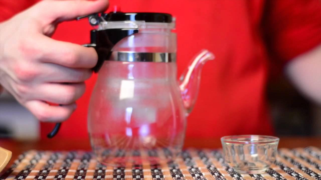 Чайник стеклянный Kamjove