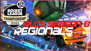 RLCS SEASON 8 NA/EU - REGIONAL HIGHLIGHTS (BEST GOALS, DRIBBLES, TEAM PLAYS)