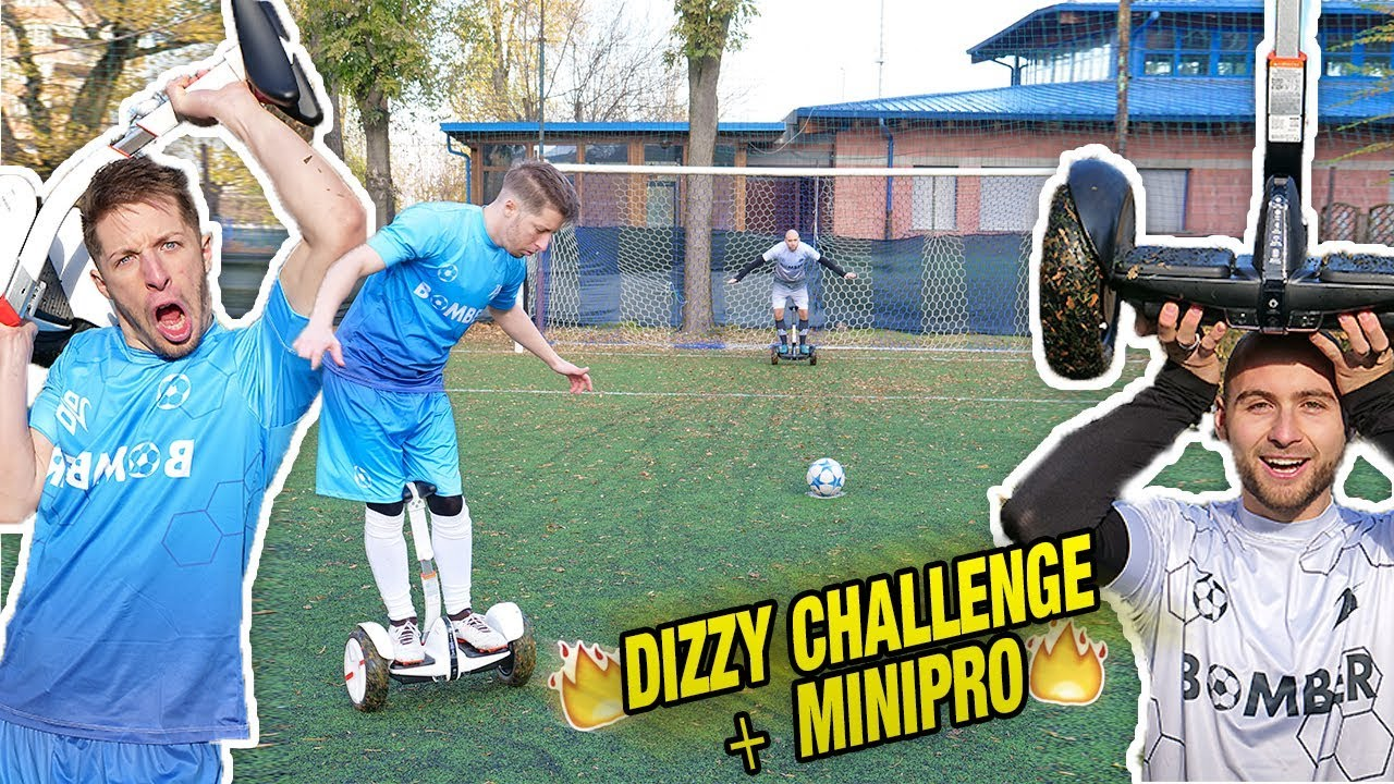 Challenge Con Super GoalYoutube Penalty Il Hoverboard IEDH29
