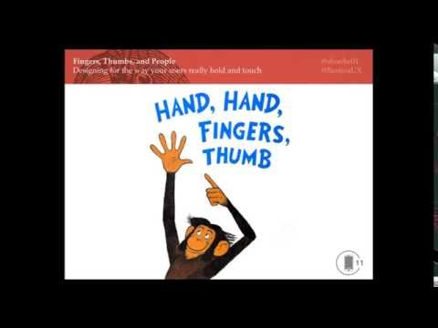 Steven Hoober: Design for Fingers, Touch, and People