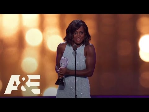 Viola Davis Accepts the #SEEHER Award | 22nd Annual Critics' Choice Awards | A&E