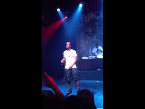 Juicy J says stop fighting at concert 6/7/13