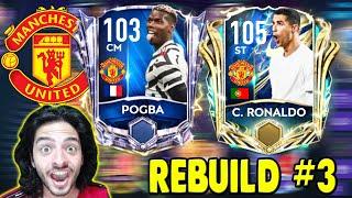 DESTANSI TRANSFERLER MUAZZAM FİNAL (Manu Rebuild #3) FIFA Mobile