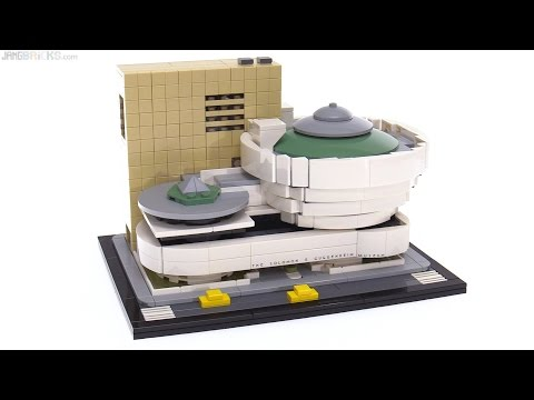 LEGO Architecture Solomon R. Guggenheim Museum review! 21035
