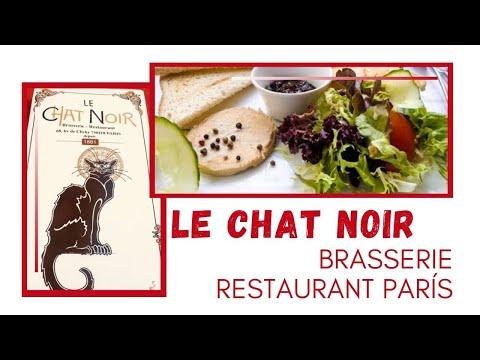 LE CHAT NOIR Brasserie Restaurant Paris