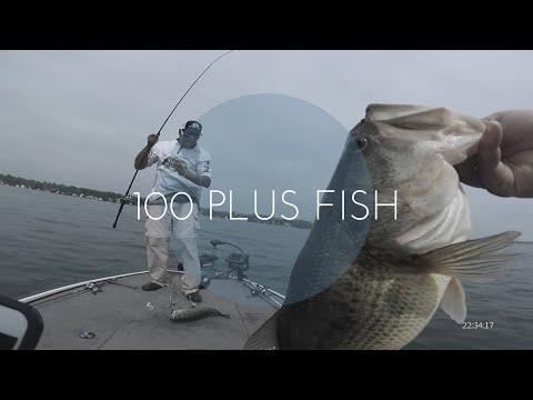 Fishing Cayuga Lake For BIG LARGEMOUTH BASS