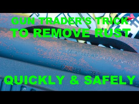 Gun Trader's Trick To Remove Rust Safely, Quickly, and With No Chemicals!