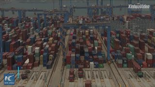 China's automated Qingdao port adopts smart container lifting system