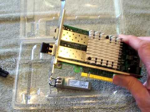 Intel(R) Ethernet Server Adapter X520 Series: Removable and Mixable SFP+  Modules