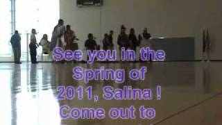 KSU At Salina Diversity Summit Powwow 2010 Part 5B Blanket Dance, End