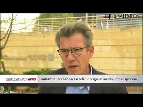 Israel praises Guatemala over Jerusalem embassy move, December 25, 2017 (Video Reuters)