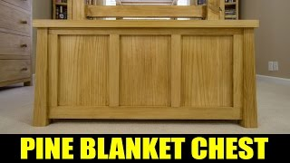 Making A Tongue & Groove Blanket Chest - 213