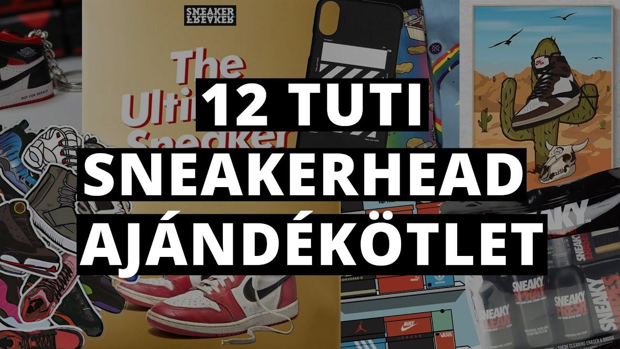 12 szuper sneakerhead ajándék ötlet ennek tuti örülni fog