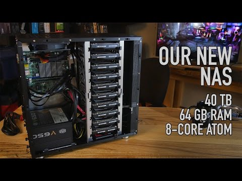 Our New NAS: 40 TB, 64 GB ECC RAM, SSD Caching, 10 Bay Case
