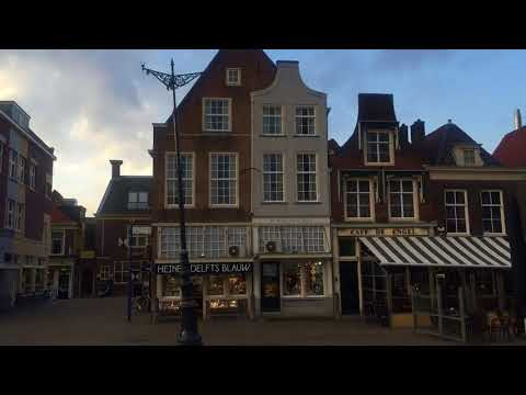 Delft, Netherlands (Holland), Beautiful Central Square (Central Market)