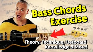 Awesome Bass Exercise T๐ Improve Your Theory, Technique & Fretboard Knowledge!